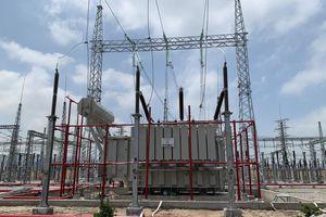 Đóng điện xung kích dự án nâng công suất TBA 220kV Thanh Nghị