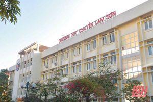1.090 thí sinh đăng ký dự thi vào trường THPT Chuyên Lam Sơn