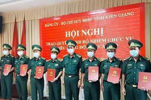 Biên phòng Kiên Giang bổ nhiệm nhiều cán bộ chủ chốt