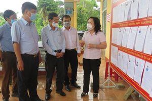 Phú Yên: Công tác bầu cử và nhiệm vụ phòng, chống dịch bệnh là nhiệm vụ trọng tâm