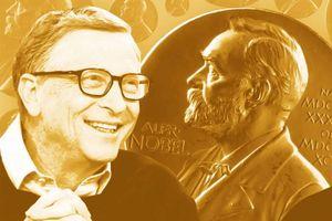 'Giải Nobel là điều Bill Gates muốn có nhất trong cuộc đời'