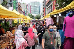 Số ca mắc Covid-19 ở Malaysia tăng kỷ lục ngày thứ hai liên tiếp