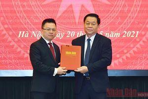 Trao Quyết định bổ nhiệm đồng chí Lê Quốc Minh làm Tổng Biên tập Báo Nhân Dân