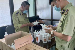Đột kích kho hàng tại 'chợ thuốc' Hapulico, phát hiện lô nước sát khuẩn giả mạo