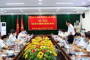 Bộ tư lệnh Cảnh sát biển và Học viện Hải quân tiếp tục đổi mới nâng cao chất lượng đào tạo