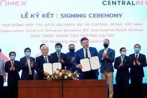 Becamex IDC và Central Retail Vietnam hợp tác phát triển Trung tâm Thương mại 'Go!'