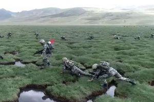 Trung Quốc tập trận gần biên giới với Ấn Độ