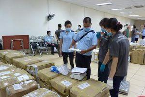 Phá chuyên án vẩn chuyển 127 kg ma túy bằng đường hàng không