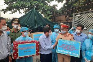 TP Hồ Chí Minh: Hỗ trợ hơn 1,7 tỷ đồng cho 69 chốt, trạm kiểm soát dịch bệnh COVID-19