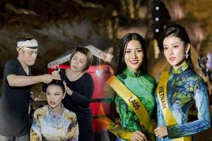 Ngắm lại BST áo dài NTK Nhật Dũng dành cho Miss Grand 2017, fan rưng rưng xúc động