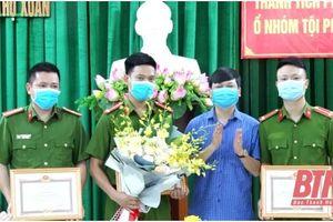 Trao thưởng thành tích phá chuyên án 521V cho Công an huyện Thọ Xuân