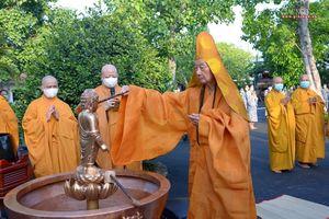 Trang nghiêm lễ Tắm Phật tại chùa Huê Nghiêm (TP.Thủ Đức)