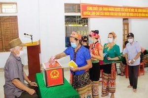 Nghệ An: Gần 43.000 cử tri miền núi, biên giới bỏ phiếu sớm