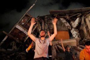 Dân Gaza nửa đêm ăn mừng sau lệnh ngừng bắn Hamas - Israel