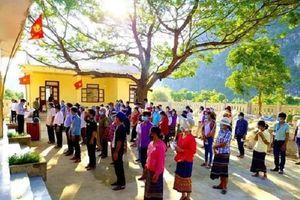 Quảng Bình: Cử tri 17 khu vực đi bầu cử sớm
