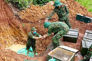 Bộ CHQS tỉnh Hải Dương hủy nổ thành công gần 760 quả bom bi