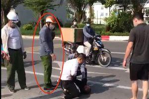 Đại úy công an đứng nhìn dân vật lộn với cướp thể hiện sự non kém về nghiệp vụ