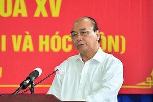 Chủ tịch nước Nguyễn Xuân Phúc: 'Tạo điều kiện cho người dân an cư lạc nghiệp'