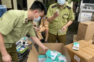 Lạng Sơn: Tạm giữ 200 máy đo nhiệt kế hồng ngoại không rõ nguồn gốc xuất xứ