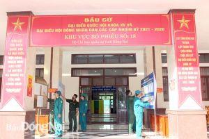 Lực lượng vũ trang tỉnh quyết tâm đảm bảo tuyệt đối an toàn bầu cử