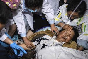 Động đất liên tiếp rung chuyển vùng tây nam Trung Quốc khiến nhiều người thương vong