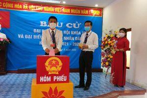 Trưa 22-5, huyện đảo Bạch Long Vỹ đã hoàn thành việc bầu cử