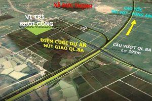 Khởi công dự án thành phần cao tốc Diễn Châu - Bãi Vọt