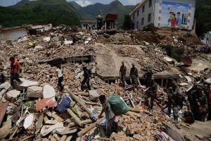Trung Quốc lại rung chuyển vì động đất mạnh 7,3 độ richter ở tỉnh Thanh Hải