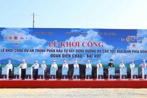 Hơn 11.000 tỷ xây dựng tuyến đường bộ cao tốc đoạn Diễn Châu - Bãi Vọt