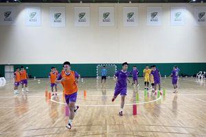 Tuyển Futsal Việt Nam tích cực chuẩn bị trước 2 trận đấu với Lebanon