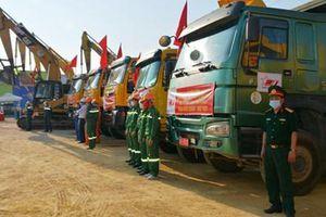 Khởi công dự án đường bộ cao tốc đoạn Diễn Châu- Bãi Vọt
