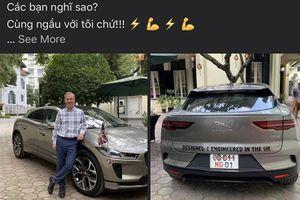 Đại sứ Anh tại Việt Nam 'check in' bên Jaguar i-Pace chạy điện