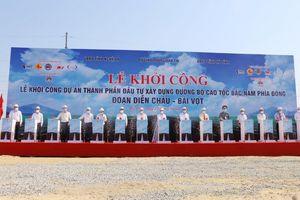 Khởi công dự án cao tốc Băc Nam đoạn qua Diễn Châu - Bãi Vọt