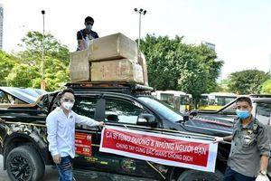 Tùng Dương và những người bạn hỗ trợ Bắc Giang 460 triệu đồng chống dịch