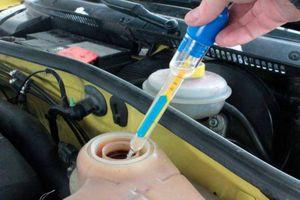 Khi nào cần thay nước làm mát động cơ ô tô?