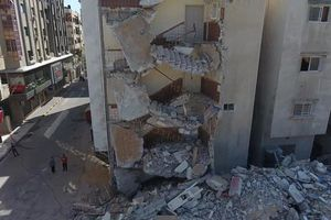 Hình ảnh Gaza tan hoang sau 11 ngày xung đột Israel-Palestine