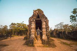 Di tích Chăm nào quy tụ hơn 70 đền tháp ở miền Trung?