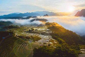 Cảnh đẹp Việt Nam khi nhìn từ trên cao: Lan Châu đảo đẹp nhất Cửa Lò