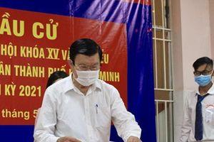 Nguyên lãnh đạo Đảng, Nhà nước bỏ phiếu tại TP Hồ Chí Minh