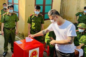 Bầu cử trong trại tạm giam
