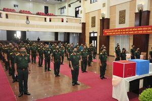Cán bộ, chiến sĩ Bộ Tư lệnh TP Hồ Chí Minh nô nức đi bầu cử