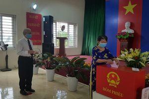 Quận Hoàng Mai đạt tỷ lệ 99,45% cử tri đi bầu cử