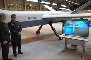 Iran khoe mẫu máy bay chiến đấu không người lái tầm xa mới mang tên Gaza