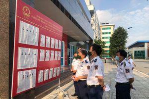 Trên 500 cử tri tại Bộ Tư lệnh Cảnh sát biển Việt Nam đi bỏ phiếu