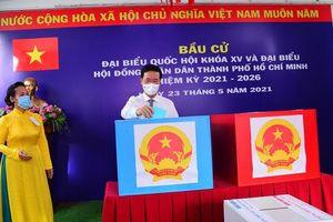 Lãnh đạo Đảng, Nhà nước tham gia bỏ phiếu tại TP Hồ Chí Minh