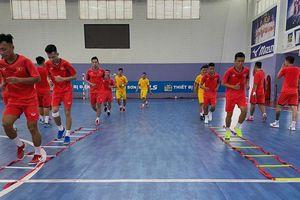 Truyền hình trực tiếp 2 trận play-off của Đội tuyển Futsal Việt Nam