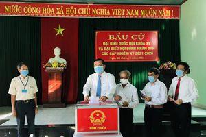 Hơn 1,17 triệu cử tri tỉnh Quảng Nam nô nức đi bầu trong ngày hội non sông