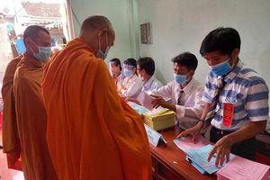 Cử tri các tỉnh Quảng Ngãi, Bình Định, Phú Yên nô nức đi bầu cử