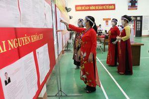 Cuộc bầu cử thành công tốt đẹp: Tỷ lệ cử tri đi bầu cử toàn tỉnh đạt 99,4%