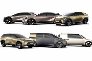 Toyota sẽ ra mắt 15 xe điện trong 4 năm tới
